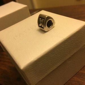 Pandora Jewelry - Pandora Sterling Sterling Silver Letter K Charm